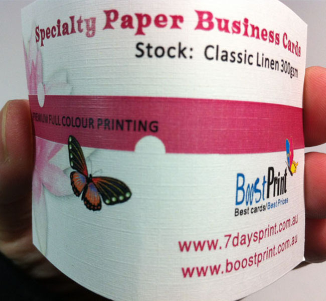linen paper business cards printing from only   55 95